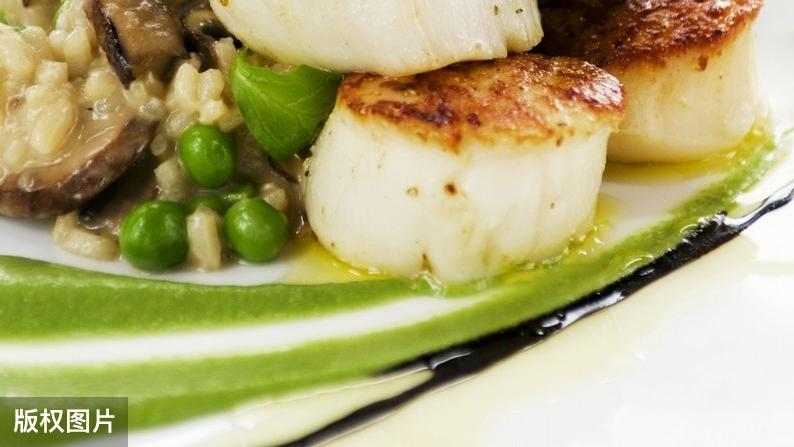 扇贝的简易花式烹调,海鲜珍品大餐,抗病强身的健康美食