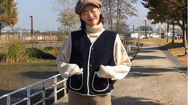 韩国女生秋冬只穿裙子?错!裤装也是她们的最爱,显气质一绝