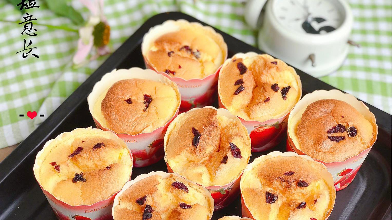 面包房15元1个的杯子蛋糕,在家5个鸡蛋能做1堆,绵软香甜成本低