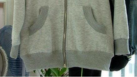 童装插肩袖卫衣做法