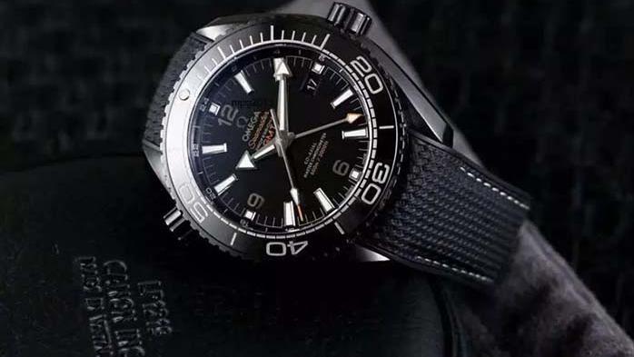 """VS厂欧米茄海马系列""""深海之黑""""腕表对比正品「多图评测」"""
