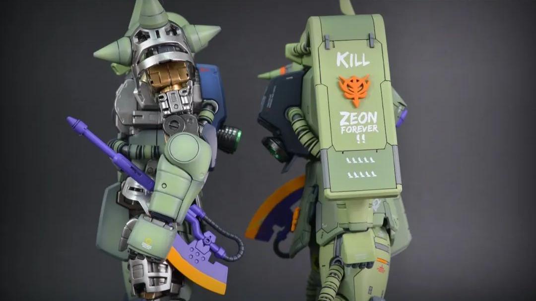 高达模型秀:双色·DOUBLE ZAKU II