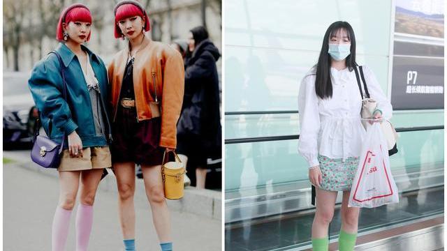 """""""十分裤""""早就过时了,今年流行短装配长袜,快40的全智贤都在穿"""