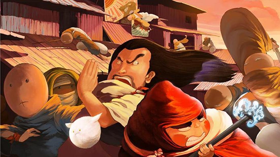 动漫《大护法》,两类人武器不同,是为了和大护法,在虫洞的打斗