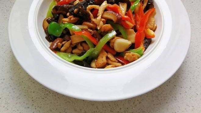 香菇炖鸡胸肉-减肥瘦身餐