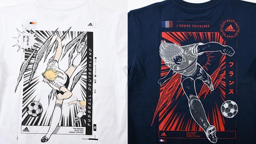adidas x Tsubasa全新联名T恤发布