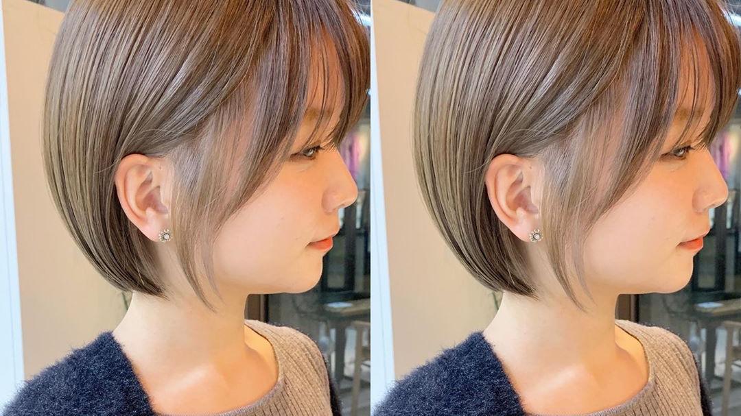 这才叫短发,瘦脸立体显年轻,越来越多女士这样剪