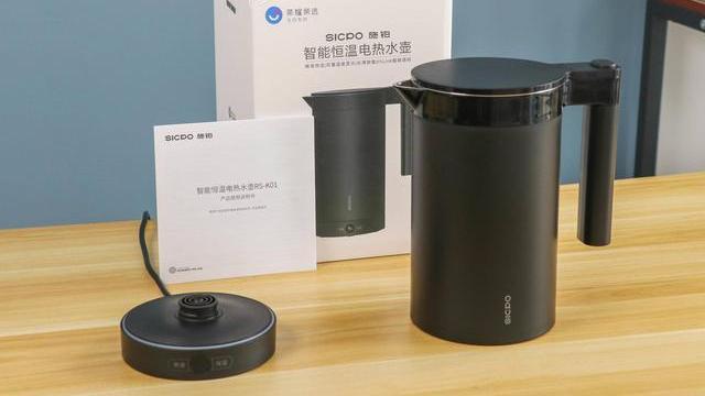 一款颜值与实力兼具的智能小家电,施铂恒温电热水壶上手评测