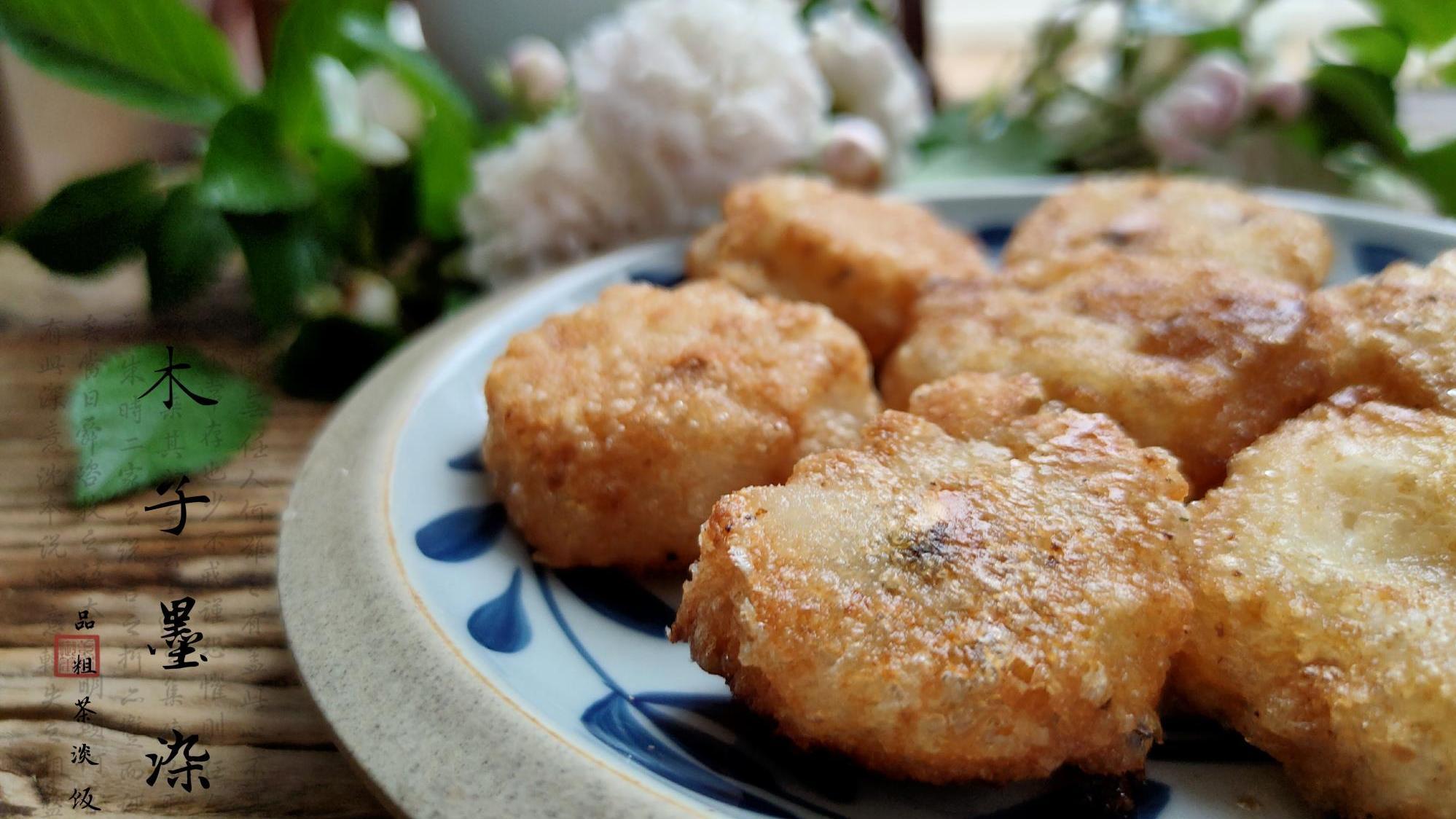 爆米花做成炸糕,香甜软糯,一口酥,还不粘牙