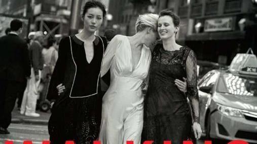刘雯再上美版VOGUE,封面大赏,增添中国清雅之美的风韵