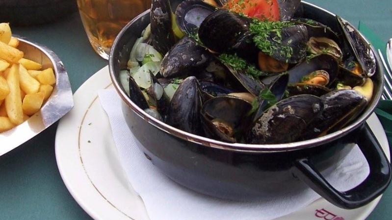 蓝青口薯条居然是海鲜菜,太出乎意料了,但是却意想不到的美味