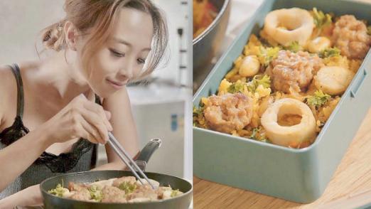西班牙海鲜肉丸炖饭,一碗到底下饭刚好