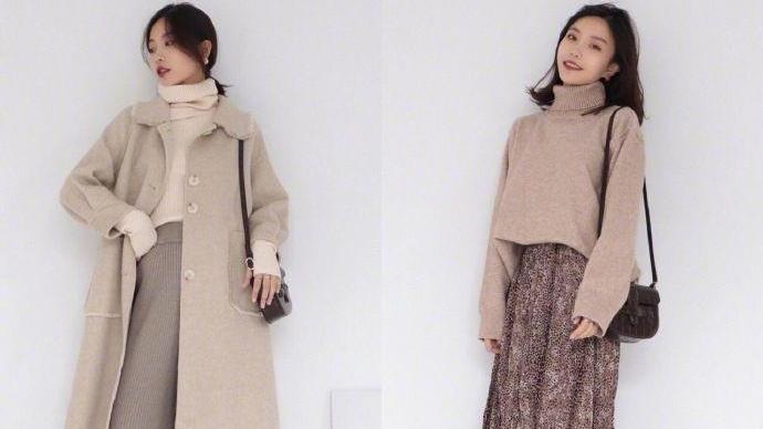 秋冬换季不知怎么搭?学学这18款韩风穿搭,颜色清新,还减龄显瘦