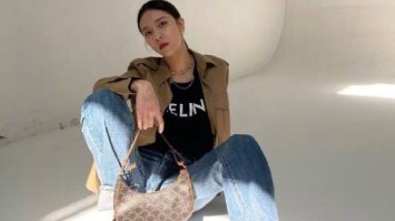 24岁宋妍霏,私服穿搭可奶可盐,这是被演技耽误的时尚博主?