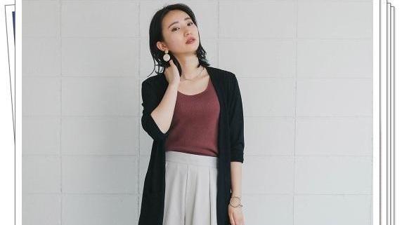 短款,中长款,长款,不同长度的开衫穿搭示范,适合轻熟女人