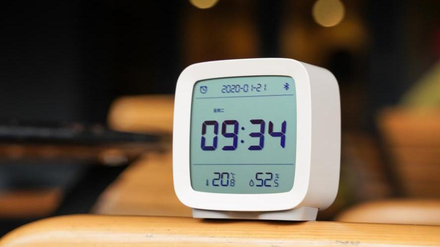 小米有品又一好物,这个极简小闹钟,或是卧室床头柜的最佳搭档