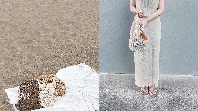 日本女生的夏季穿搭好物,竟是一只MUJI网袋!