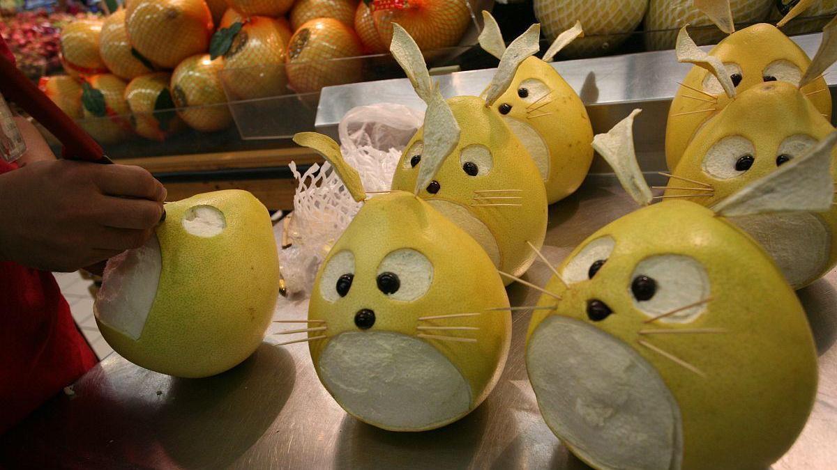 吃完的柚子皮不要扔,教你做成糖,晶莹剔透,甜蜜可口,真好吃