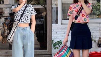 甜酷妹子的夏日穿搭,时尚清新有气质,任谁都能轻松驾驭!