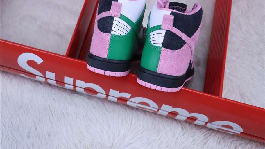 Nike SB Dunk High Pro Invert Celtics 高帮休闲运动板鞋