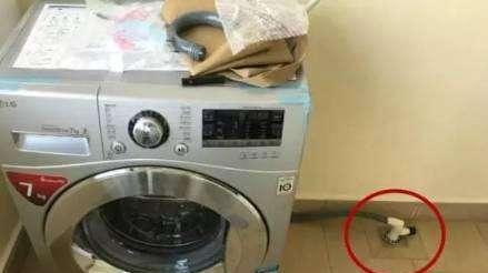 为什么洗衣机排水管不能直插地漏?听内行人解说,懊悔现在才知道