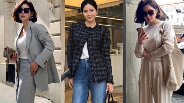 27套韩系穿搭合集来袭,随性气质又浪漫,承包你整个秋冬的优雅