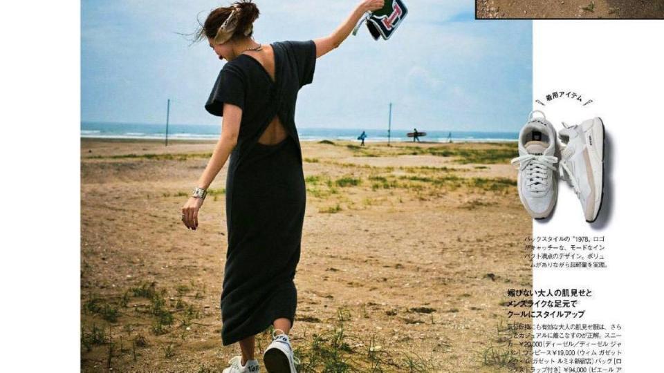 连衣裙搭配运动鞋,不仅休闲活力还时髦,往往更有亲和力!