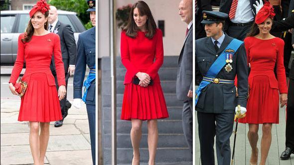 凯特连续两天穿旧衣,被质疑作秀:王妃有必要穿老妈十年前衣服?