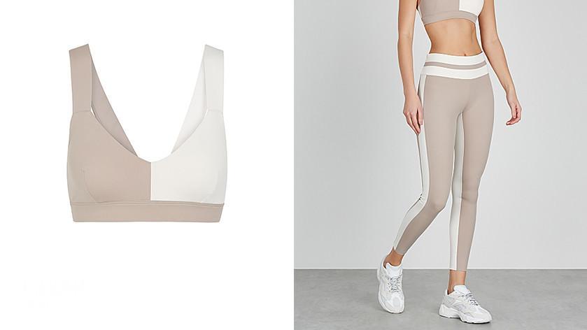 居家运动也要时髦:看看这些Sports Bra运动服套装!