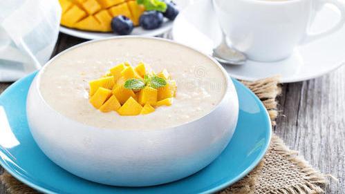 西式甜点食谱集——土耳其米布丁,五种常见食材随手将白米变甜品