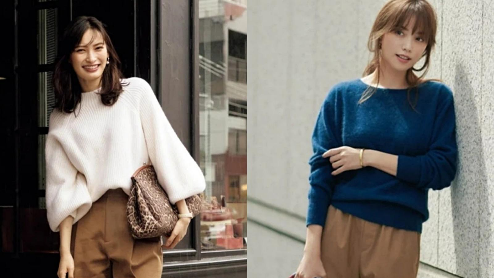40+女人冬季怎么穿才好看?跟潮人学穿搭,这样就很有气质