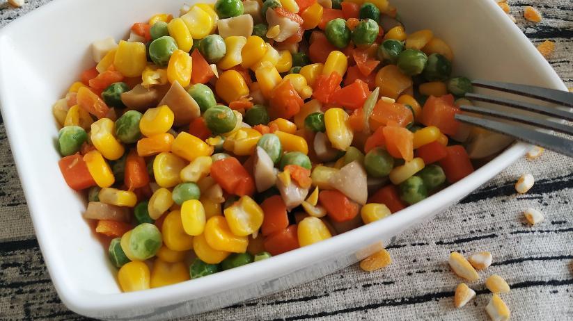 菌菇炒杂蔬,营养又健康的美味,其实很简单就能够做出来!