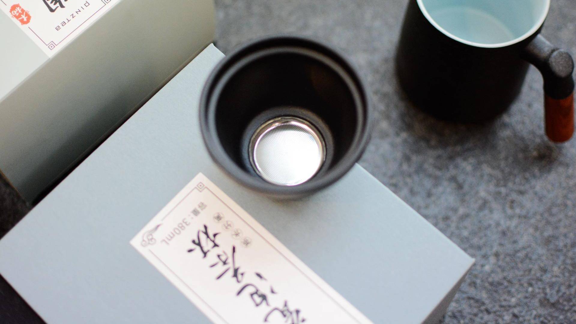 如何从迷恋咖啡转为喝茶?PINZTEA陶瓷泡茶杯,超美复古风
