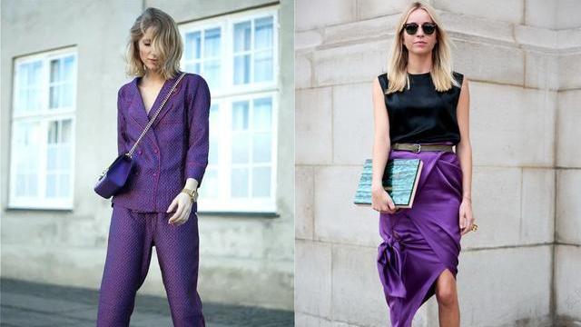 """紫色显老土?你错了,不懂它的""""配色技巧"""",难怪怎么穿也不高ya"""