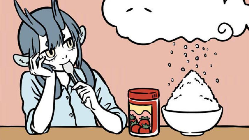 """《非人哉》筋斗云成香饽饽,""""藕霸""""真香了,藕粉刨冰好吃吗?"""