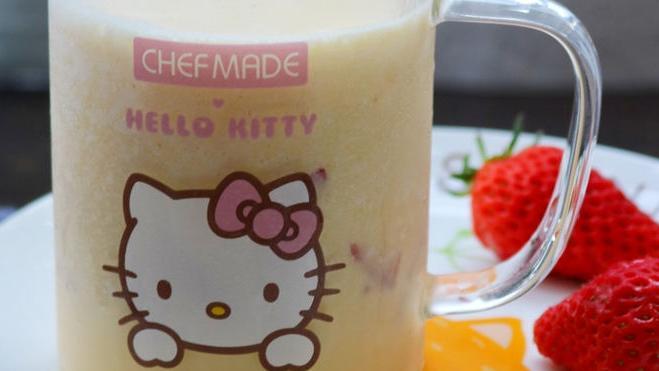 将芒果做成冷饮,细腻浓稠,再也不用出去买奶茶了