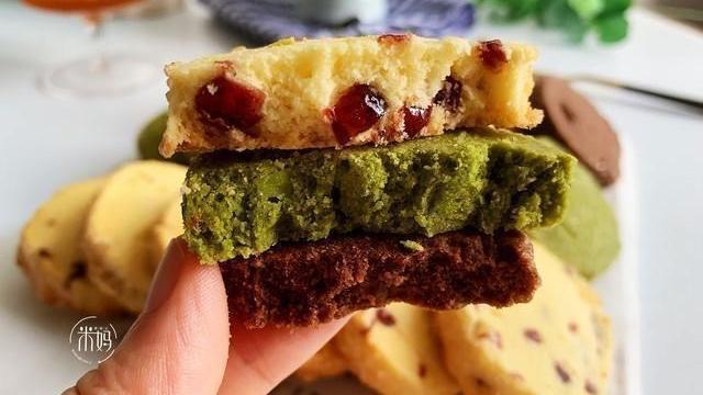 简单几步,教你在家做曲奇饼干,甜而不腻,超酥脆,特别解馋!