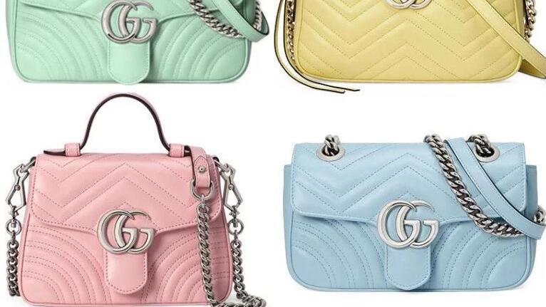 Gucci改走少女心路线?推出全新GG Marmont【马卡龙色】包包!看一眼绝对少女心炸裂!超梦幻!