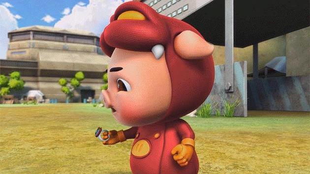 这部国漫打破收视纪录,《猪猪侠》成功塑造了一位大肚囊的小英雄