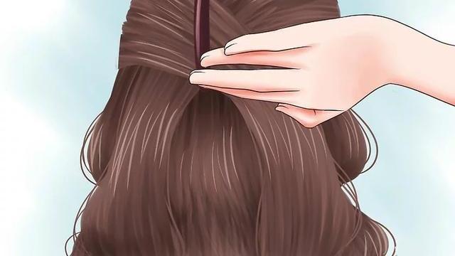 如何梳简单又独特的学生妹发型