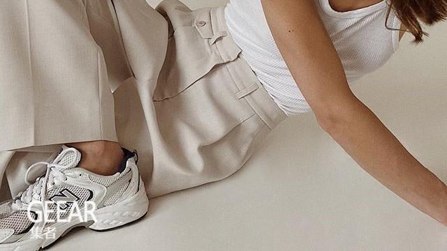 超爱New Balance的荷兰时尚博主,每套穿搭都穿它!