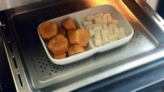 酸奶麦片红薯山药糕:做一道味美的甜品,一天的心情都是很好!
