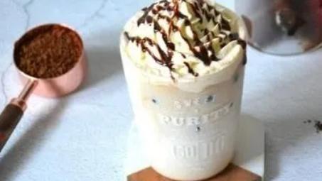 在家DIY雪顶咖啡,清冷醒脑,高颜值夏日冷饮!