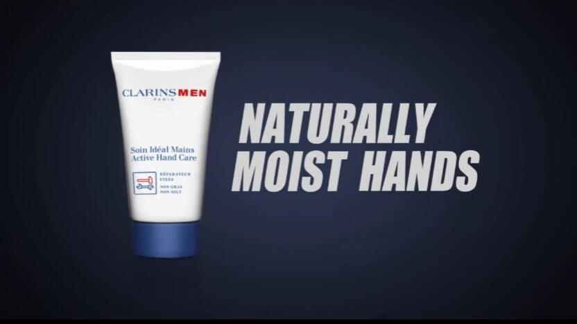 只要你看这支广告 你的手心就出汗湿润……