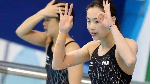 """吴敏霞才是最佳跳水身材,穿泳衣""""肥而不腻"""",皮肤白嫩光彩照人"""