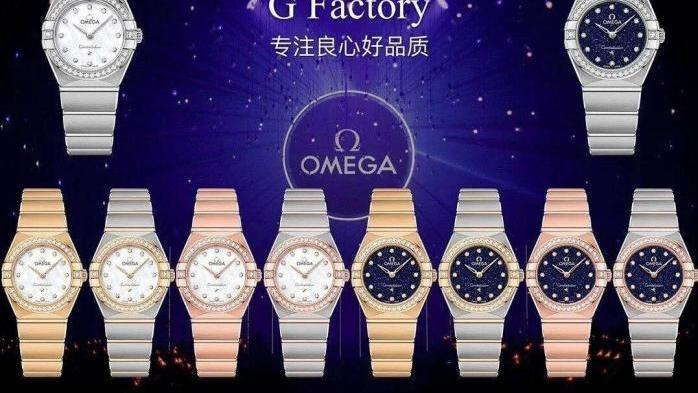 腕上艺术:女款复刻表又一力作,GF厂欧米茄25mm星座对比正品评测