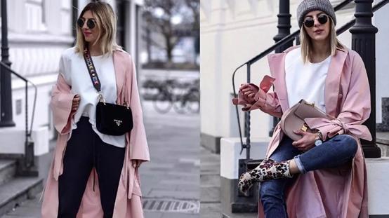 风衣显高又好搭,是最经典的时尚品类之一,追求美丽的你赶快穿吧