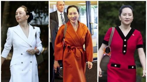 真名媛孟晚舟日常穿搭,干练又优雅,展现东方中年女性魅力