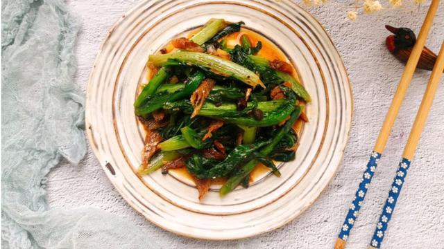 10分钟快手菜,简单味美,油麦菜最好吃的做法