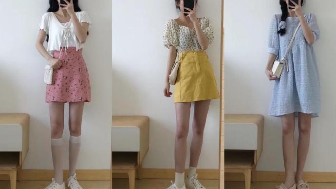 夏天穿裙子显身高的方法,要注意裙子的长度,让身材显得高挑纤细